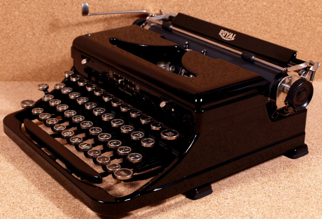 welcome to the vintage typewriter shoppe