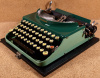 SOLD! *NEW* Remington Model 3 Portable in Two Tone Green!
