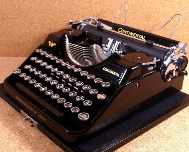 SOLD! *NEW* Continental German Typewriter with Great History!