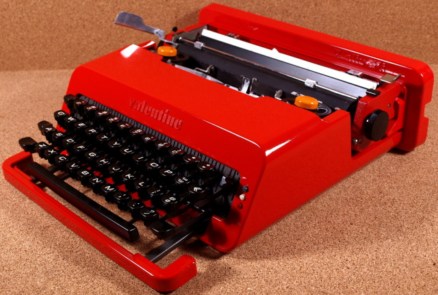 SOLD! *NEW* Olivetti Valentine! MOMA work of art!